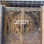 cửa sắt nghệ thuật n-24