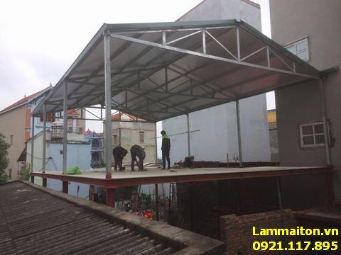 Thợ làm mái tôn tại Ba Đình uy tín