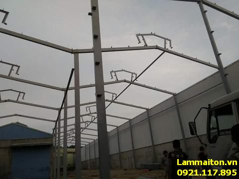 Thợ làm mái tôn tại Thanh Xuân có được niềm tin từ phía khách hàng