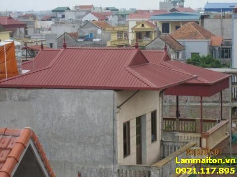 Thợ làm mái tôn tại Hà Đông giá rẻ