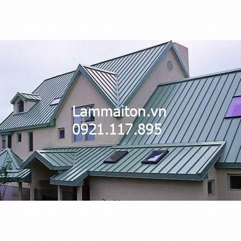 Bảng giá Làm mái tôn nhà khung thép dân dụng, thi công mái tôn chuyên nghiệp 2020 1