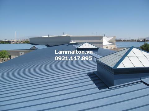 làm mái tôn giúp che nắng che mưa hiệu quả