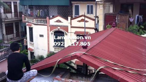 Lợp mái tôn sân thượng đem lại nhiều lợi ích