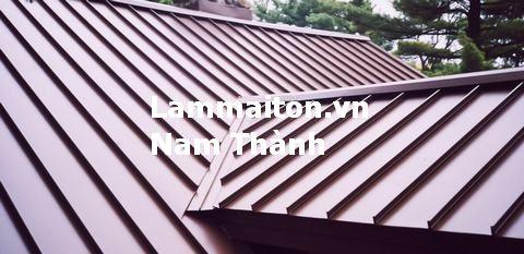 sửa máng mái tôn