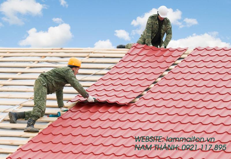 Làm mái tôn tại quận Bình Thạnh của Nam Thành- địa chỉ tin cậy cho bạn