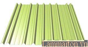 Tôn cán sóng là một loại tôn lợp mái phổ biến