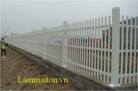 Mẫu hàng rào sắt đẹp