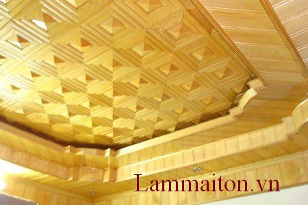 Cách đóng trần nhà bằng gỗ đơn giản