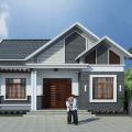 Mẫu thiết kế nhà sử dụng mái tôn 4 mái đẹp 2